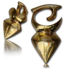 "\\\""Tidaya\\\"" Brass ear jewel / Weight"