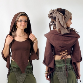 "Top Luna ""Tribal Karma\"", Brown"
