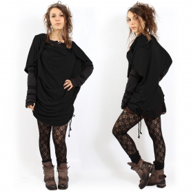 """Top Witch \\\""""Mandlu\\\"""" , Black one size"""