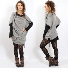 "Top witch \""mandlu\\\"", one size color light grey"