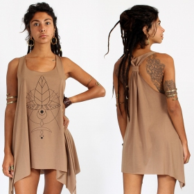"""Totem\"" knotted tunic"
