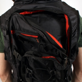 VEST01 Sac Transporter ZOOM + BACK