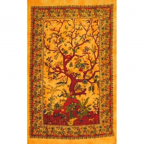 """Tree of Life\"" hanging, Yellow"