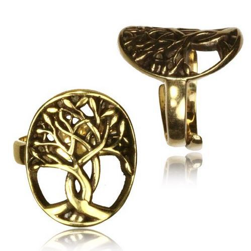 "\""Tree of Life\\\"" ring"