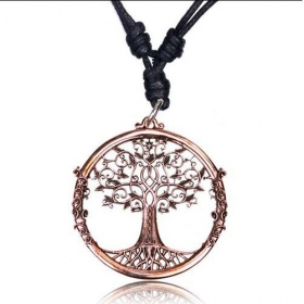 "\""Tree of Life Peetal\"" necklace"