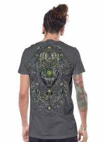 """Tree Spirit\"" t-shirt, Grey"