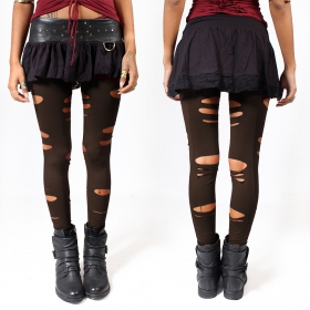 """Trinity\"" leggings, Brown"