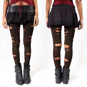 "\""Trinity\"" leggings, Brown"