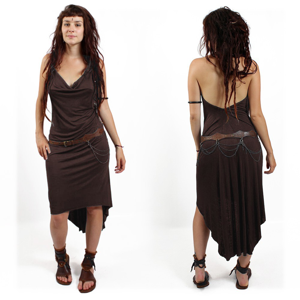 "\""Trisha\"" dress, Chocolate"