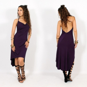 """Trisha\"" Dress, Dark purple"