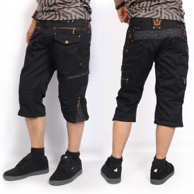 """Trishul\"" shorts, Black"