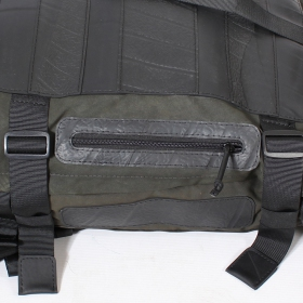 "\""Troops\"" tire tube bag"