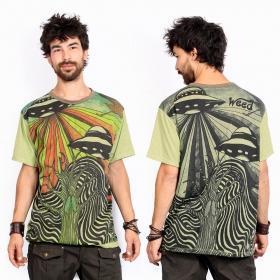 "\""U.F.O.\"" t-shirt, Green"