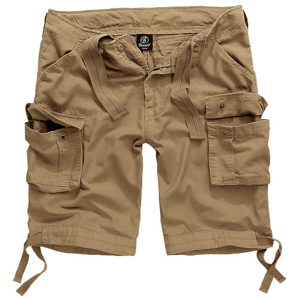 """Urban Legend\"" cargo combat shorts, Beige"