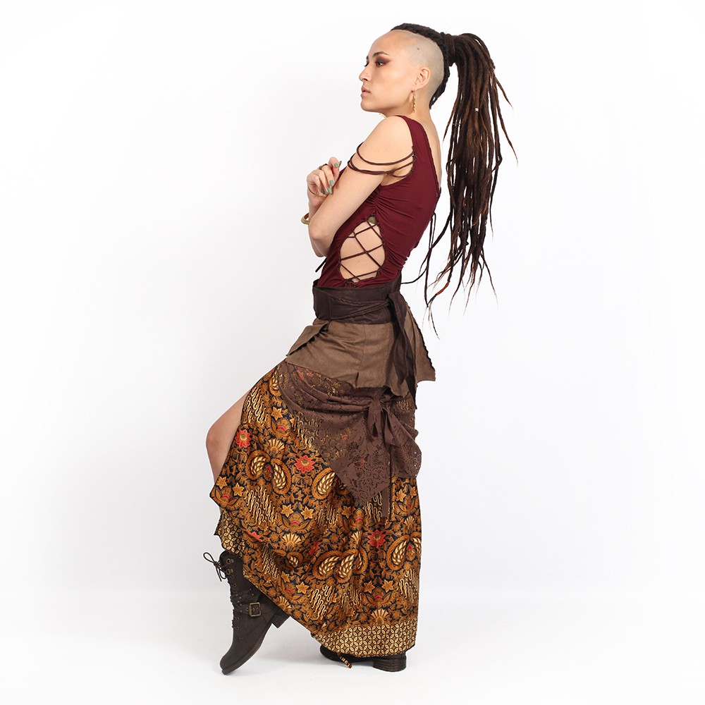 ""\""""Utopia"""" 3in1 skirt, Brown with camel patterns""1000|1000|?|en|2|72d8eb2425f436d91cb747f37af51b6d|False|UNLIKELY|0.31007418036460876