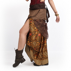 ""\""""Utopia"""" 3in1 skirt, Brown with camel patterns""280|280|?|en|2|2d6abc77910c084fb3fadcb1ce2fe03d|False|UNLIKELY|0.3423013985157013