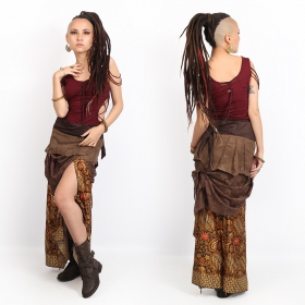 ""\""""Utopia"""" 3in1 skirt, Brown with camel patterns""280|280|?|en|2|61fcc266141d2d646b52ed66c075f439|False|UNLIKELY|0.3579855263233185