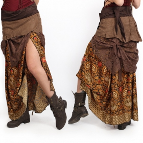 ""\""""Utopia"""" 3in1 skirt, Brown with camel patterns""280|280|?|en|2|c7c8f78aa9e29db8ef45ab9b422eff2d|False|UNLIKELY|0.3549215793609619