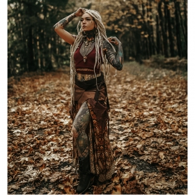 ""\""""Utopia"""" 3in1 skirt, Multi brown with orangish golden and red patterns""280|280|?|en|2|5c405900a614aae503d0eb6d42786908|False|UNLIKELY|0.28369268774986267