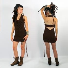 "\""Vaapas\"" tunic-dress, Brown"