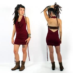 "\""Vaapas\"" tunic-dress, Wine"