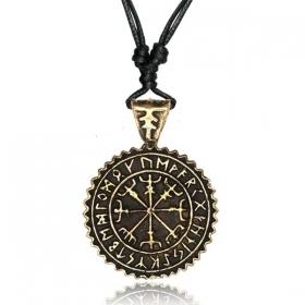 "\""Vegvisir Guardian\"" necklace"