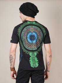 "\""Vibe\"" UV t-shirt, Black"