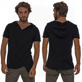 """Vipa\"" hooded t-shirt, Black"
