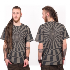 """Vortex\"" t-shirt, Grey"