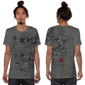 """VR\"" t-shirt, Dark grey"