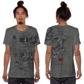 "\""VR\"" t-shirt, Dark grey"