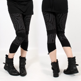"\""Waan\"" 3/4 leggings, Black"