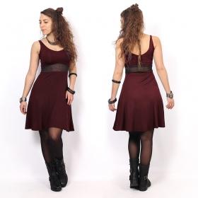 "\""Wakäa\"" dress, Wine"