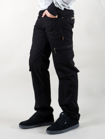 """Wake\"" cargo trousers, Black"