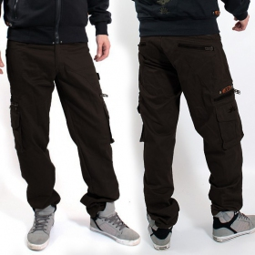 """Wake\"" pants, Dark brown"