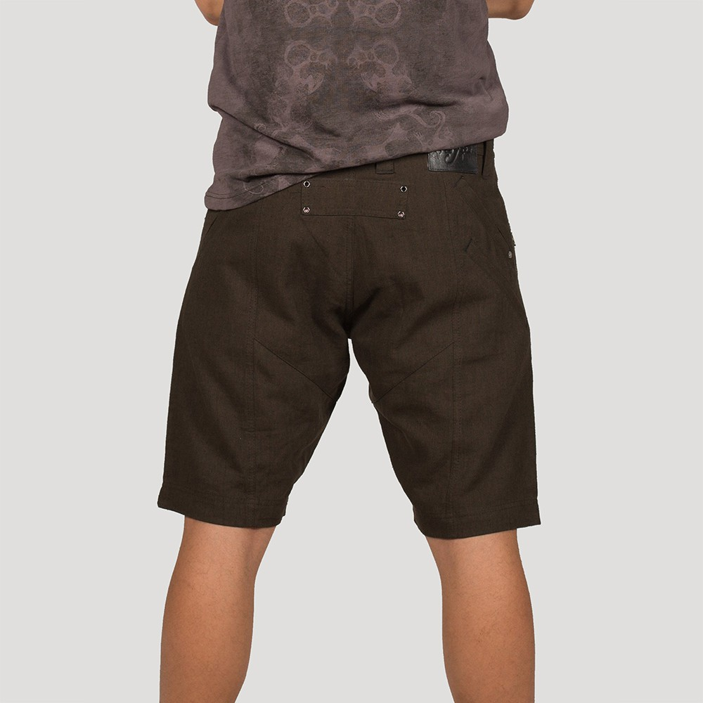 """Wakfu\"" shorts, Khaki green"