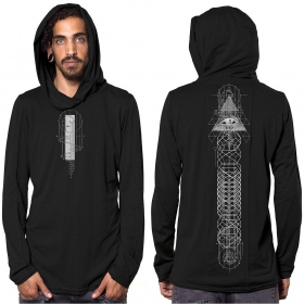 "\\\""Wayfarer\\\"" thin sweatshirt, Black"