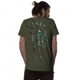 "\""Wind Key\"" t-shirt, Khaki"