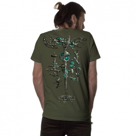 """Wind Key\"" t-shirt, Khaki"