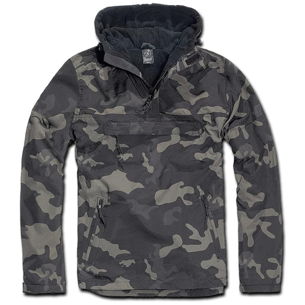 Windbreaker, dark camouflage size s