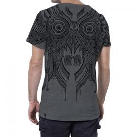 "\""Yanshu\"" T-shirt, Mottled grey"