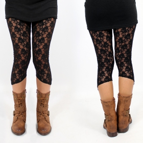 """Yaö-li\"" leggings, Black"
