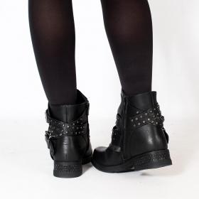 "\""Yara\"" boots, Black"