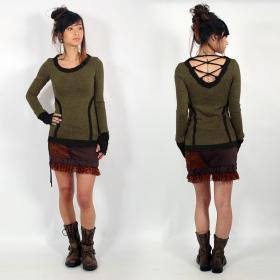 """Yggdrazil \""""Anaë\"""" pullover top, Khaki"""