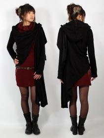 "Yggdrazil shawl \\\""Danaeriz\\\"", Black"