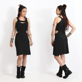 "\""Yökköo\"" short dress, Black"