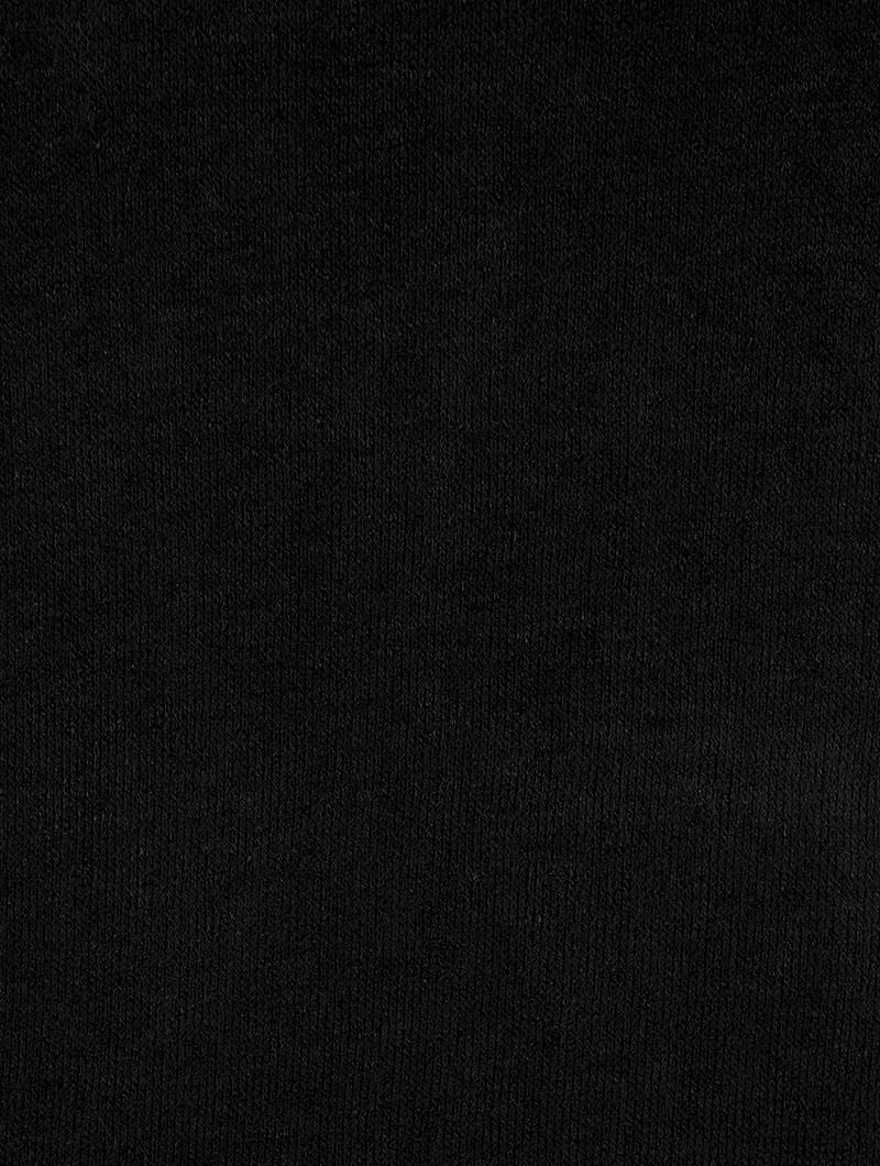 "\""Yousra\""  pullover dress, Black"
