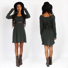 "\""Ysïaa\"" dress, Charcoal"
