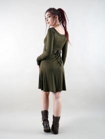 "\""Ysïaa\"" dress, Khaki green"