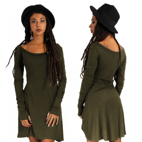 "\""Ysïaa\"" dress, Khaki"